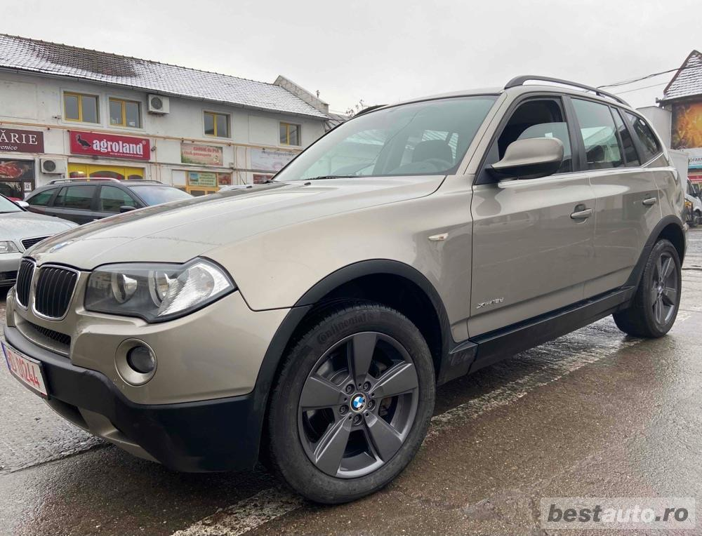 BMW X3 2010 EURO 5 4x4 2.0tdi 143cp X-drive18d Navigatie LED TOP!