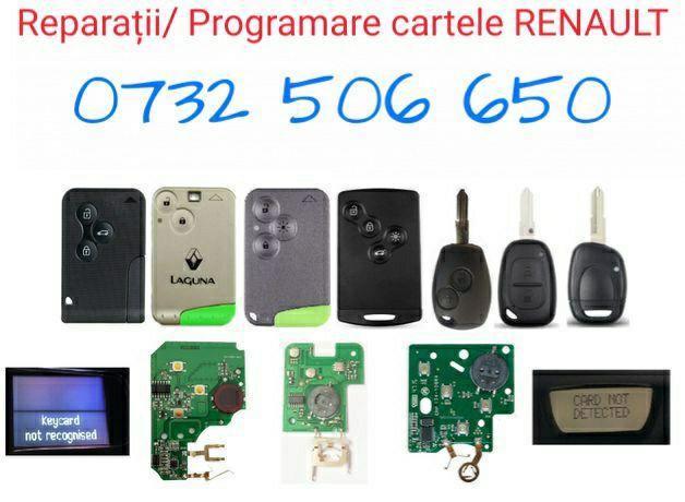 Programare cartele Renault