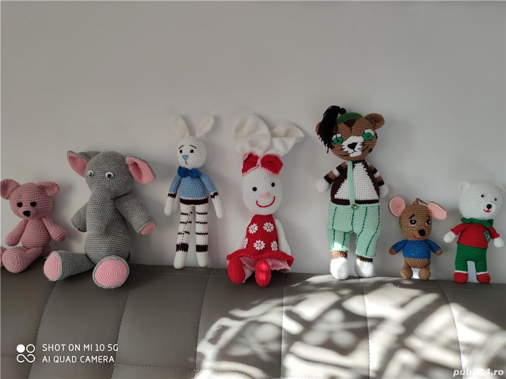 Jucării crosetate handmade