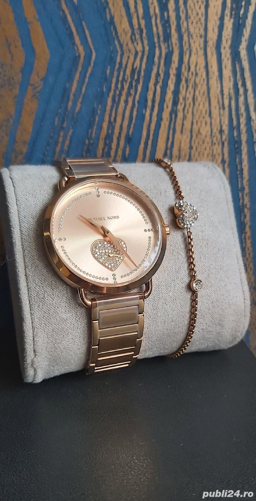 Ceas și brățară Michael Kors