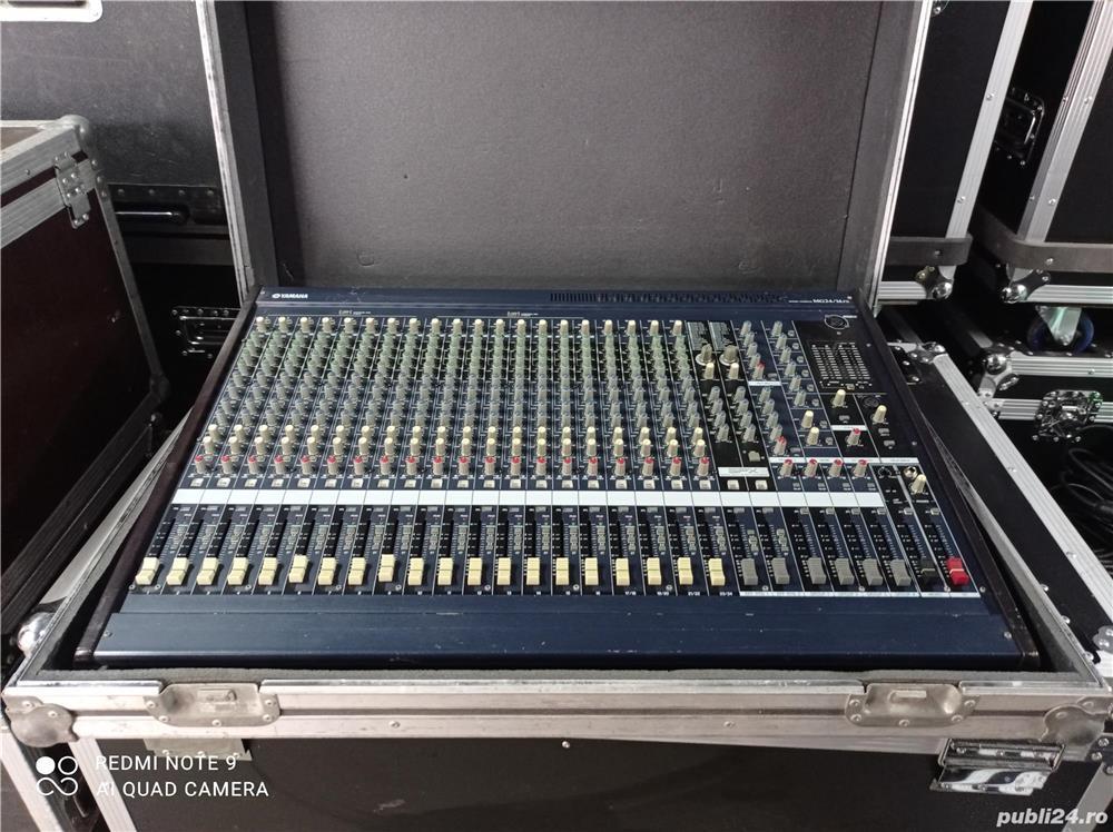 Mixer Yamaha MG24 FX-echivalent Dynacord, Soundcraft,Midas, Behringer.