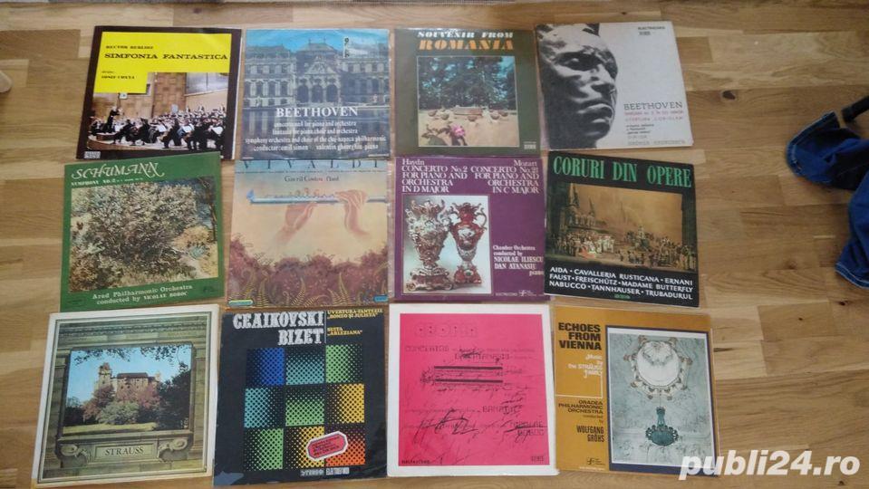 discuri vinil/vinyl cu muzica clasica electrecord, cu folie protectie, ingrijite, fara zgarieturi