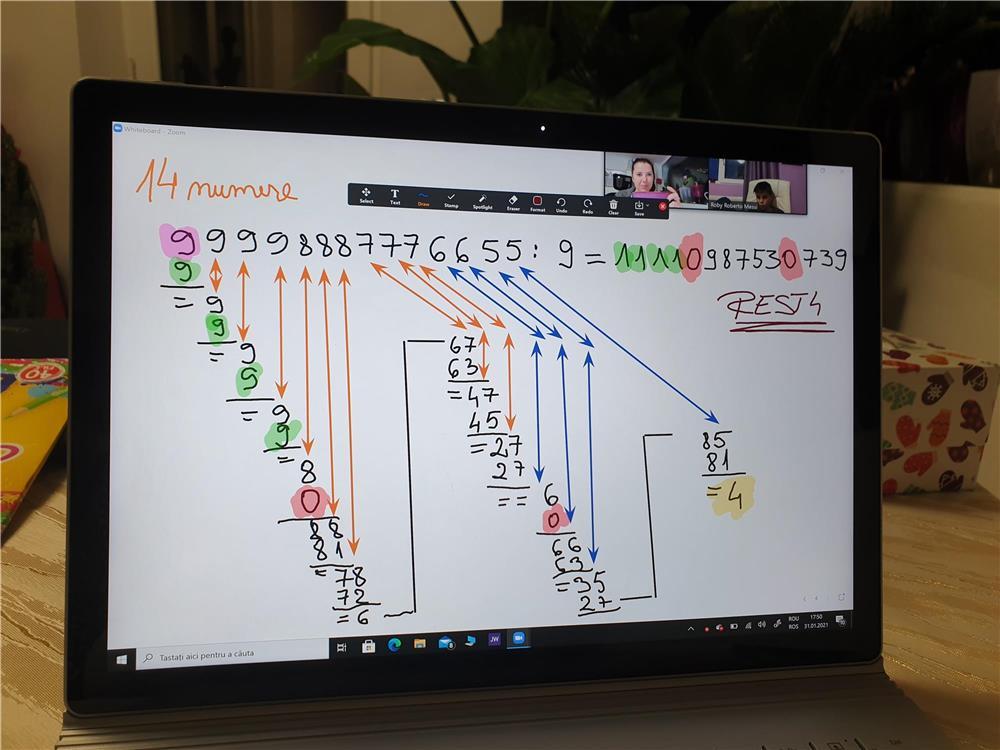 Matematică-engleză
