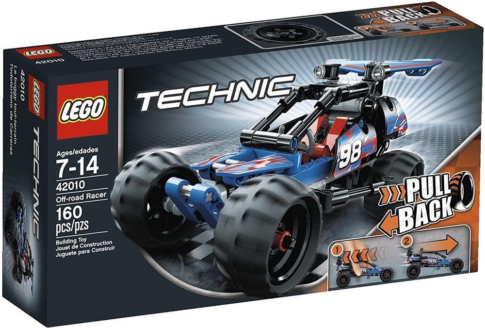Lego Technic - Masina off road- 42010, piese 160 buc, 7 ani +