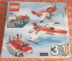 Lego Creator 3 in 1 - Aventuri cu elice, 7292 - 241 piese, 7+