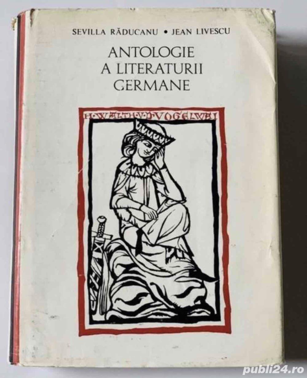 Antologie a literaturii germane, de Sevilla Raducanu, Jean Livrescu