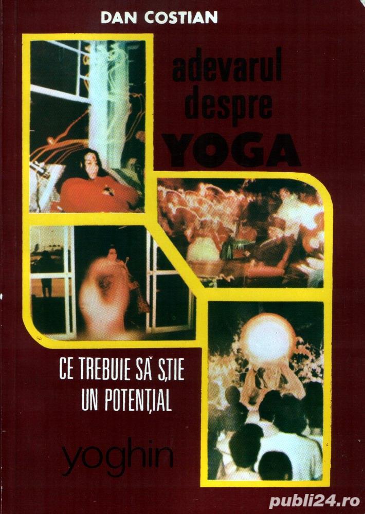 6 căr i despre Yoga