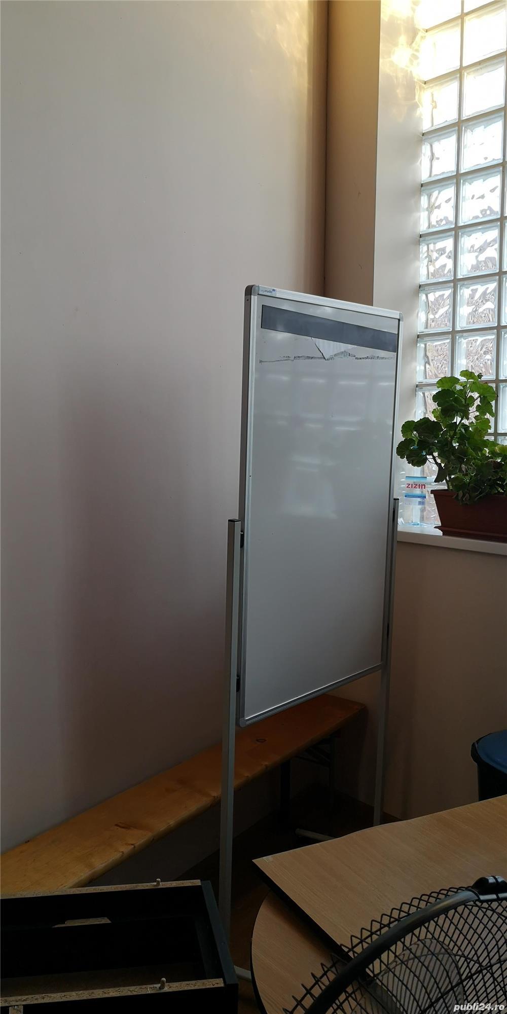 Flipchart whiteboard utilizat