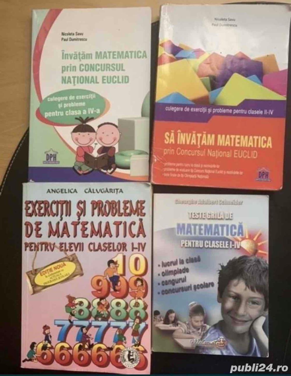 Culegeri pentru elevii claselor I-IV: Calugarita, Schneider, EUCLID