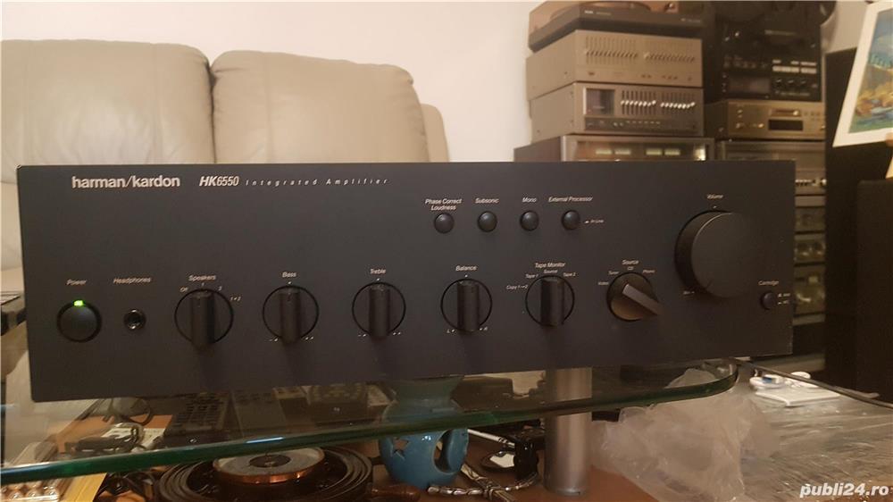 Amplificator Harman Kardon  HK6550