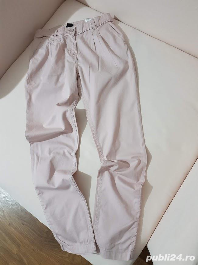 Pantaloni H&M,marimea 34 dar merg 36,stare f buna
