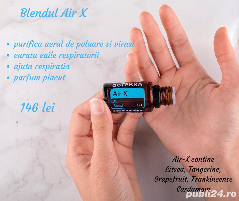 Air X, uleiuri esentiale doTerra SUA