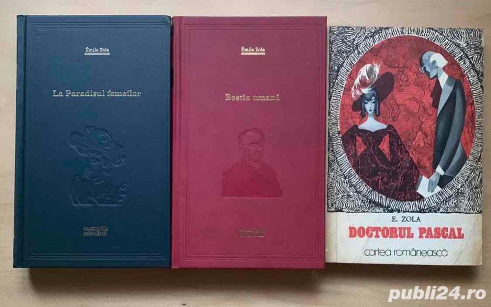 E. Zola: Bestia umana / Doctorul Pascal / La Paradisul femeilor