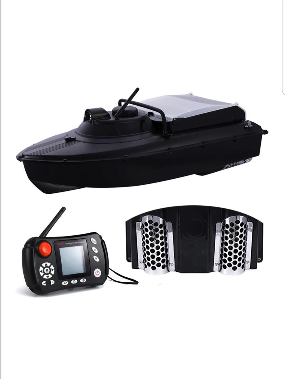 Barca de plantat cu sonar si GPS . Oferta cu doua baterii!!