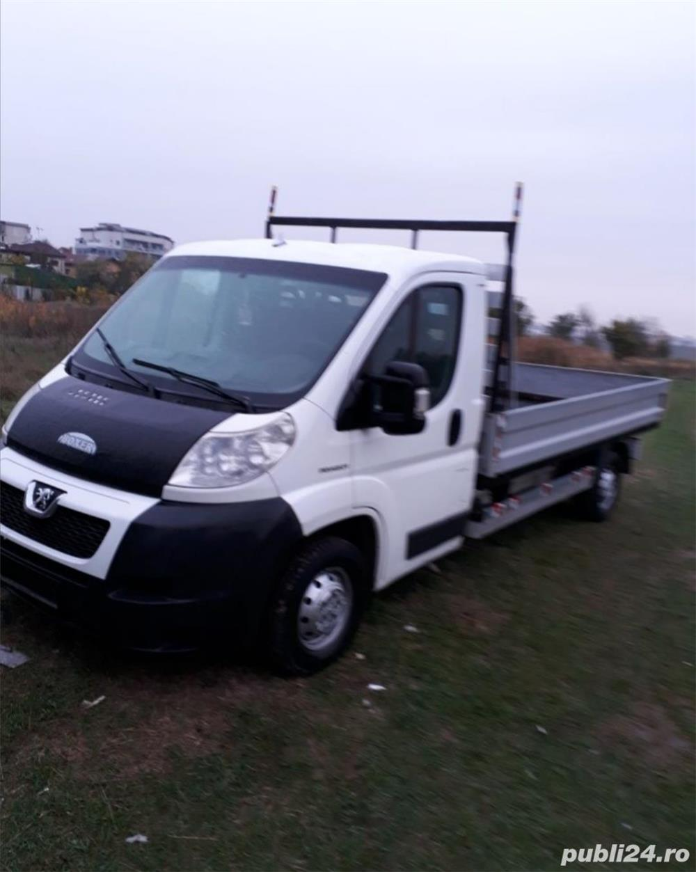 Transport marfa ieftin cu camioneta zona Maneciu-Ploiesti