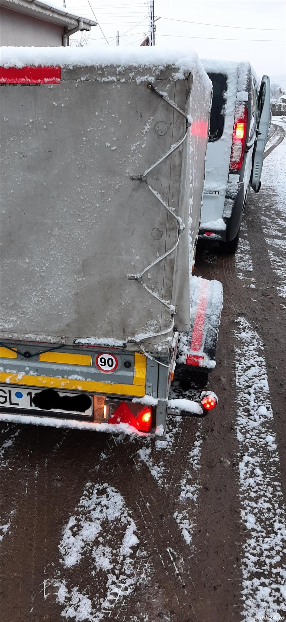 Remorca auto prelata 750 kg