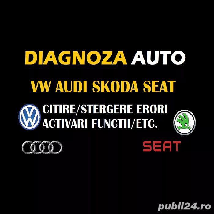 Diagnoza auto activare functii VAG COM  VCDS Audi, Volkswagen, Skoda, Audi