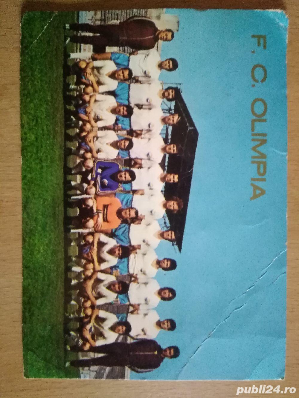 Foto cu semnaturi FC olimpia SM