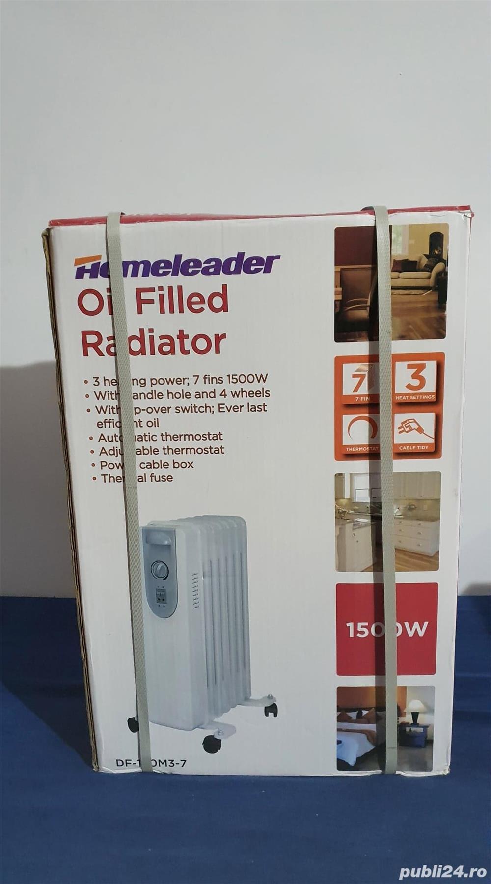 Calorifer Radiator Electric cu ulei, NOU