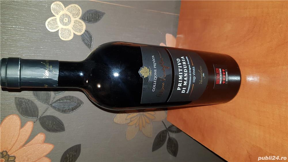 Vin rosu sec Primitivo di Manduria 750 ml