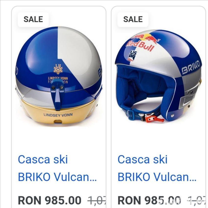 Casca SKI Race Briko Limited Edition