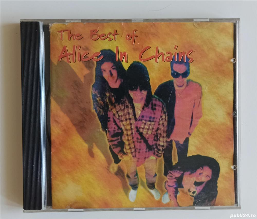 Alice in Chains, The best of ..., CD audio compilation