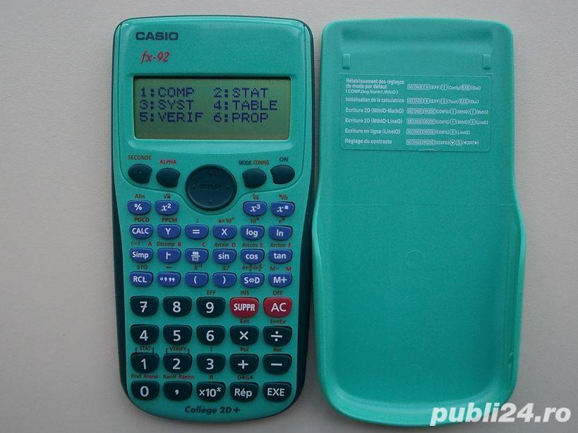 Calculator CASIO FX-92 College 2D+ grafic stiintific