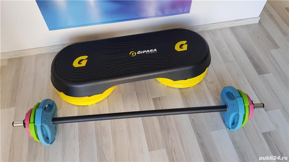 Gipara Fitness - Set profesional pentru Body Pump (20kg)