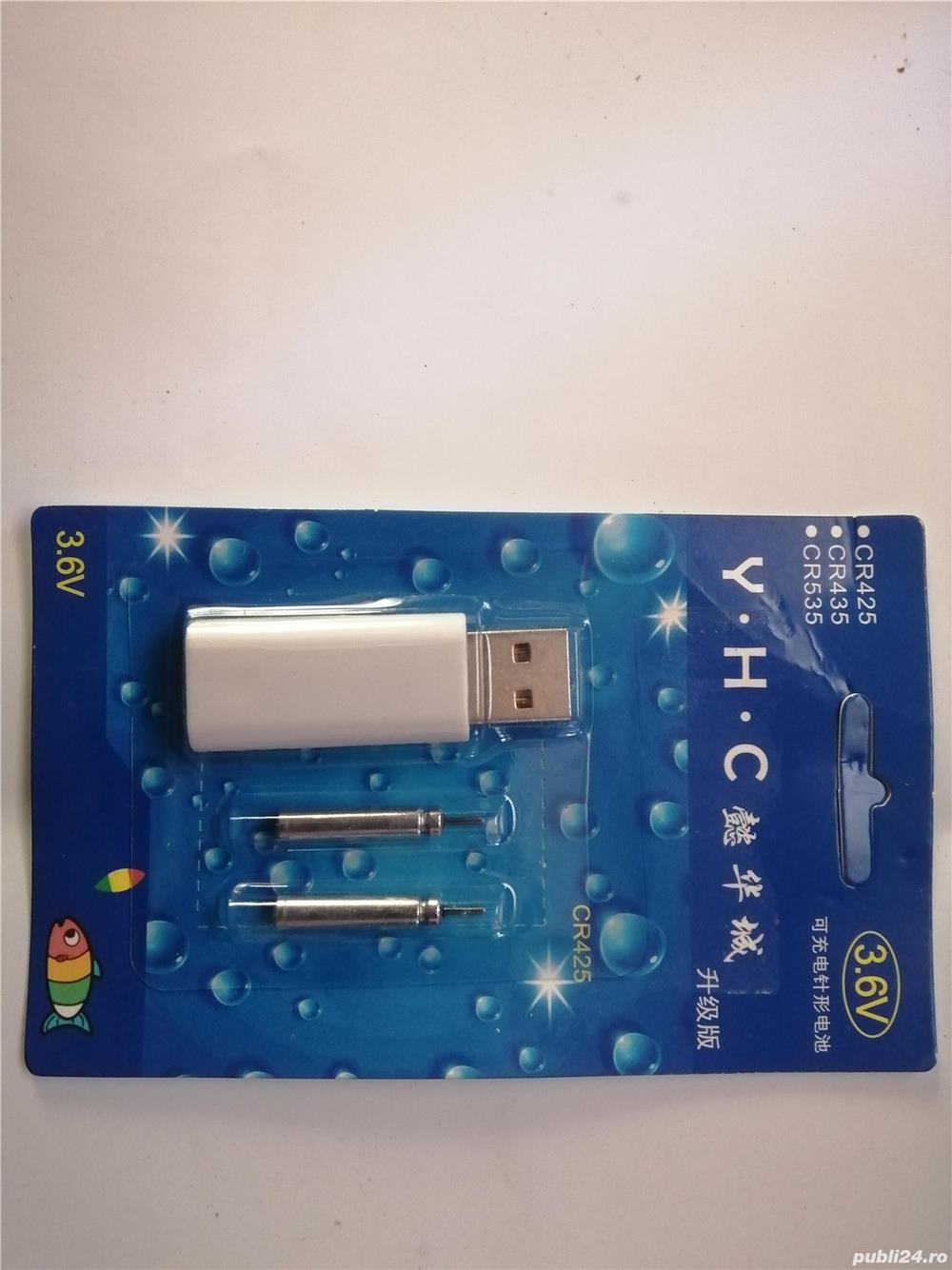 Bateri pentru plute electronice,incarcare USB