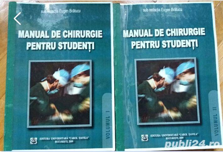 Manual de chirurgie pentru studenti - Eugen Bratucu