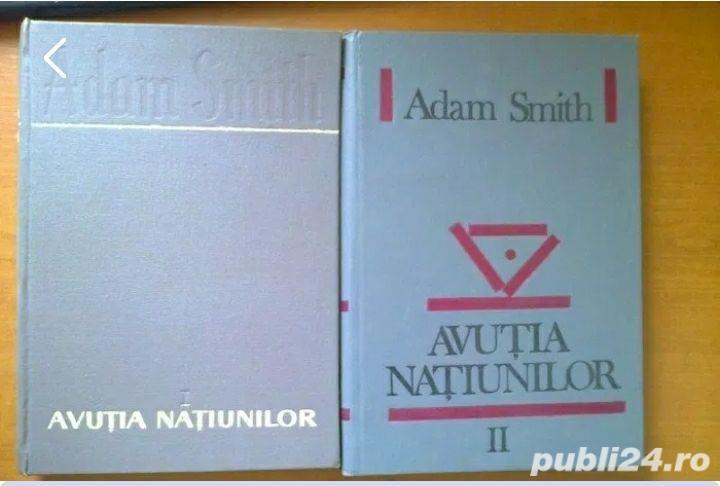Avutia natiunilor vol. I, II - Adam Smith