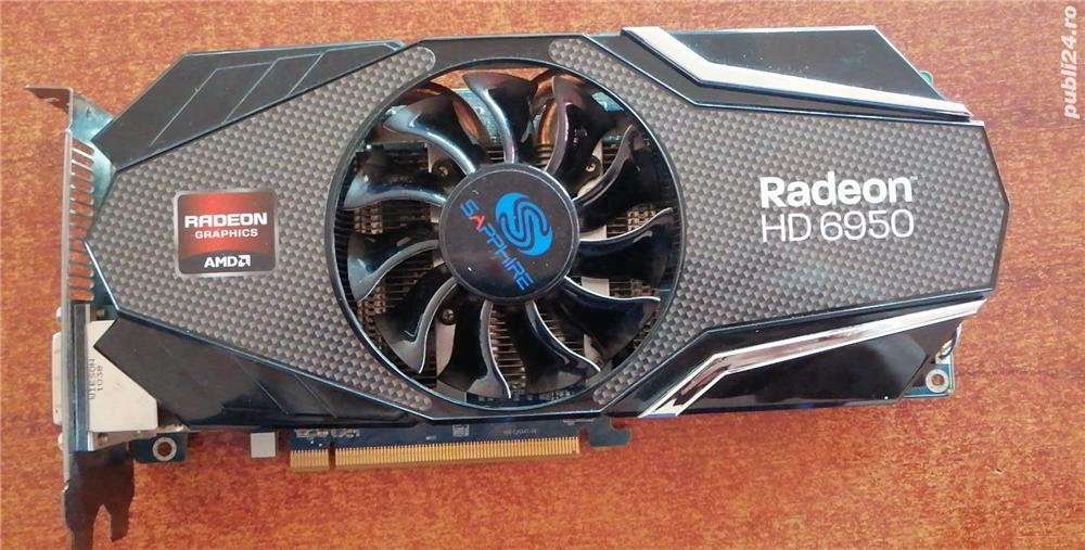 Placa video Sapphire AMD Radeon HD 6950, 2GB, GDDR5, 256 bit, DVI, HDM