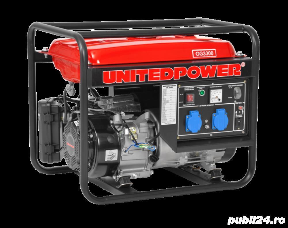 Inchiriere-Generator de curent GG3300/3000W/4T/7CP 60 lei