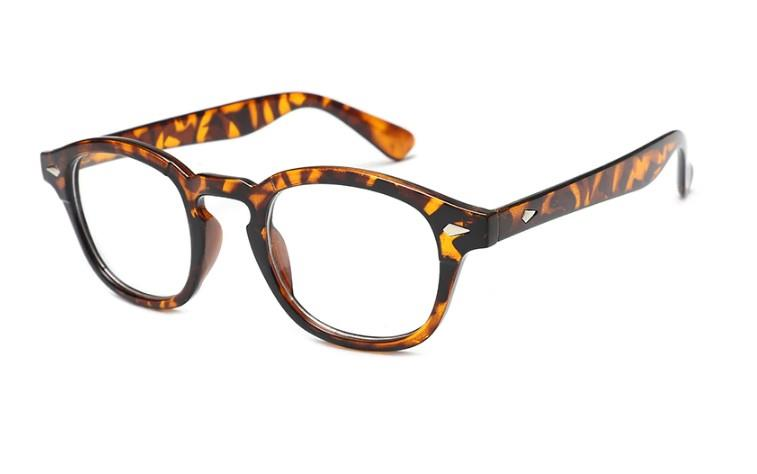 Rama ochelari Moscot Lemntosh - Animal Print - Johnny Depp Style