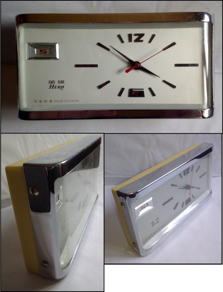 Ceas de masa Hero, made in China, anii '80, funcțional