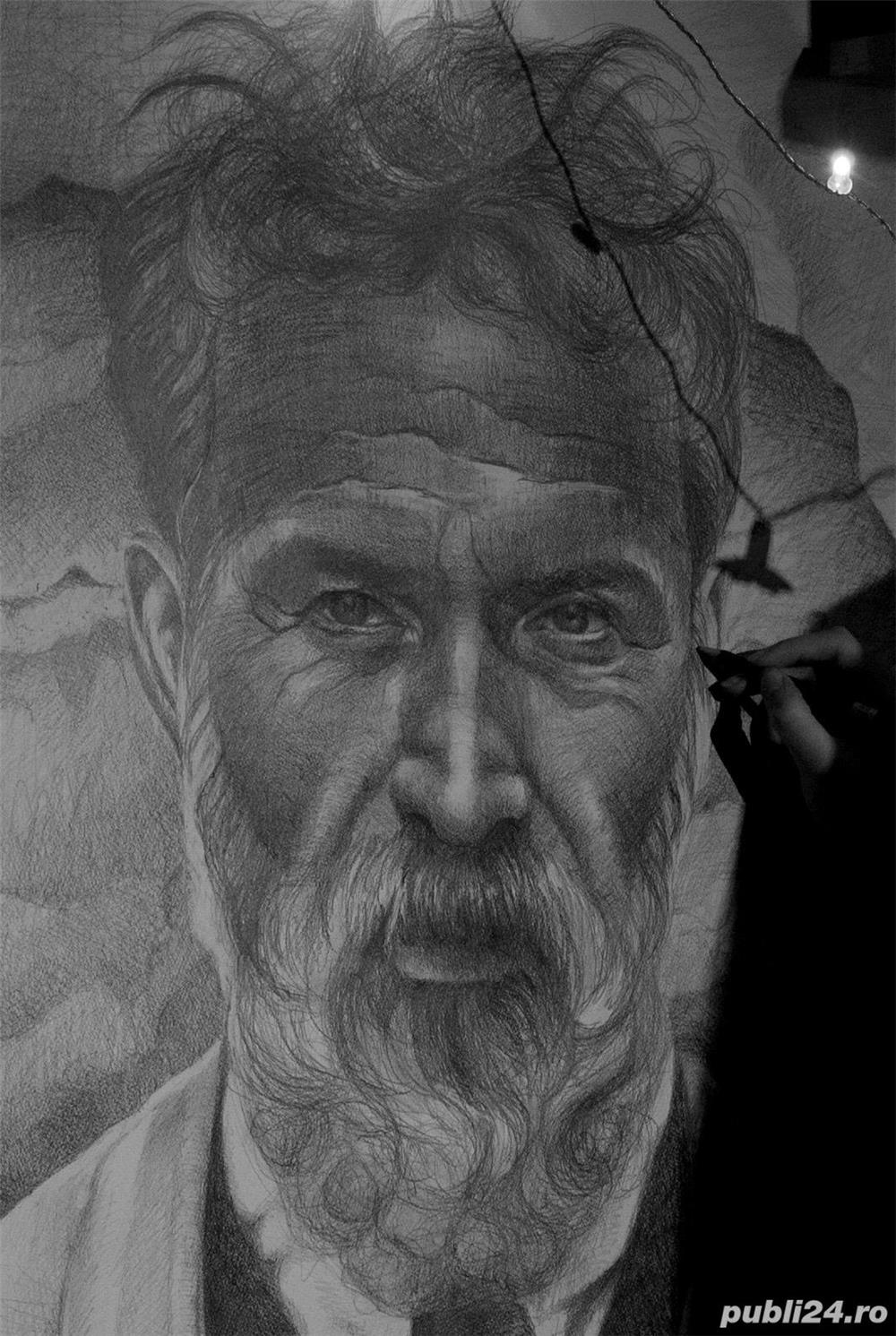 Portrete realiste dupa poza
