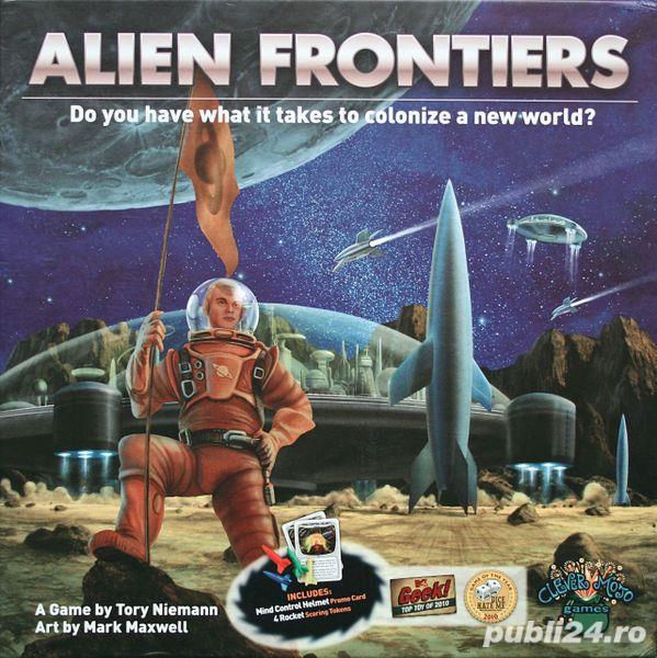 Alien Frontiers (boardgame / joc de societate)