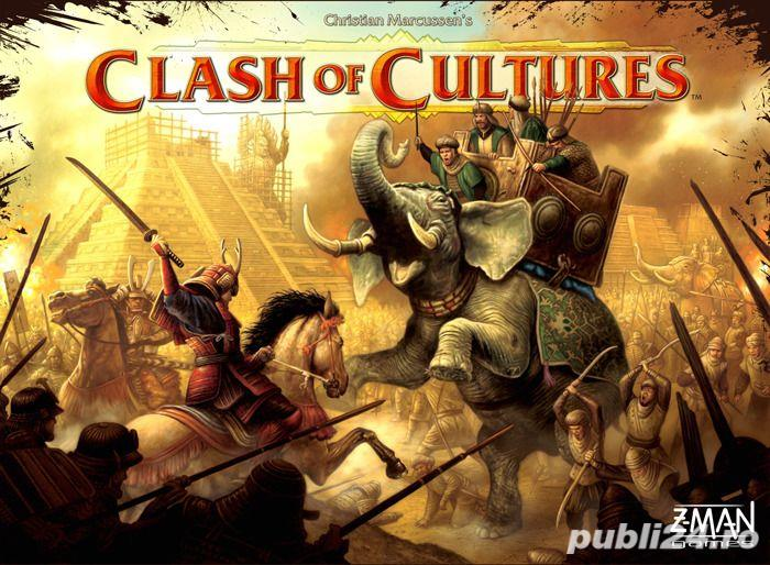 Clash of Cultures (boardgame / joc de societate)