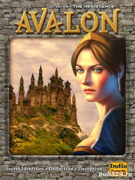 Resistance: Avalon (boardgame / joc de societate)