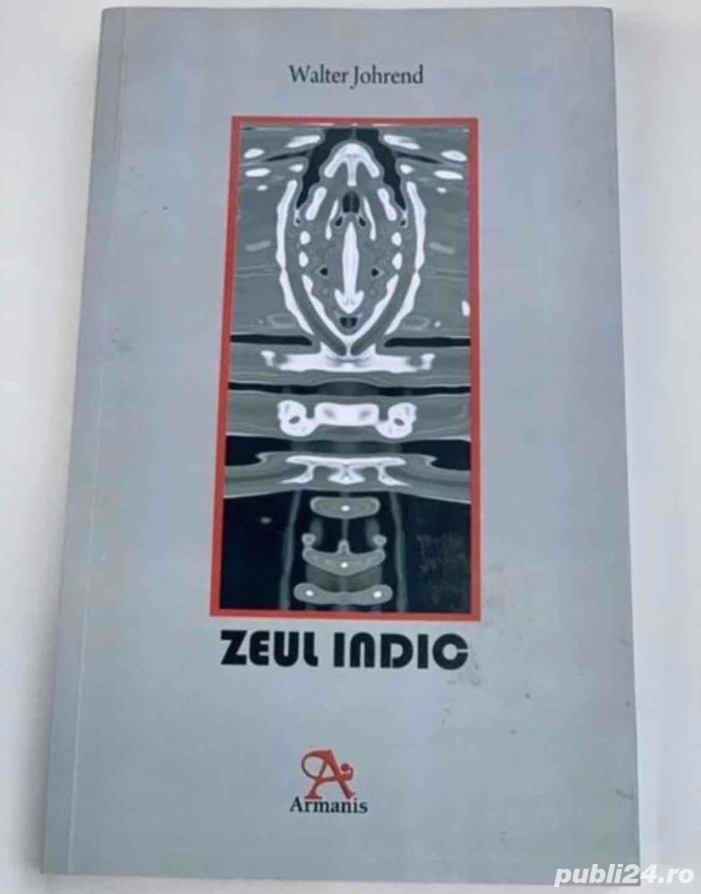 Poezie erotica Zeul Indic, de Walter Johrend