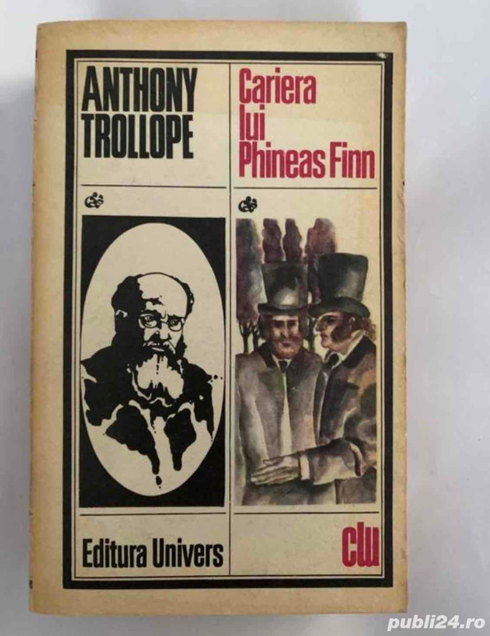 Cariera lui Phineas Finn, Anthony Trollope