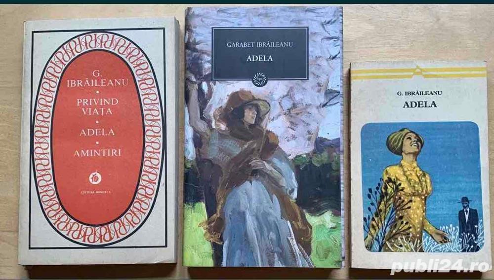 Adela - G. Ibraileanu (3 editii)