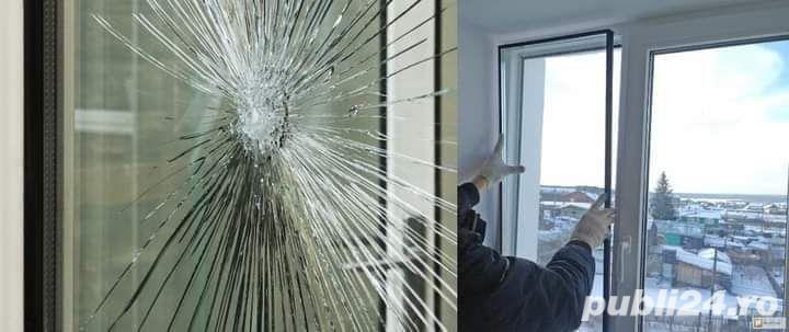 Ofer servicii de inlocuire a sticlei sparte