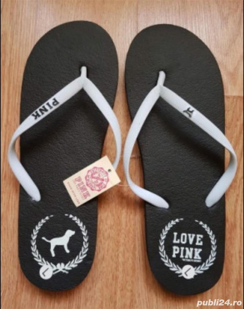 Slapi papuci Victoria Secret Pink, 36/37
