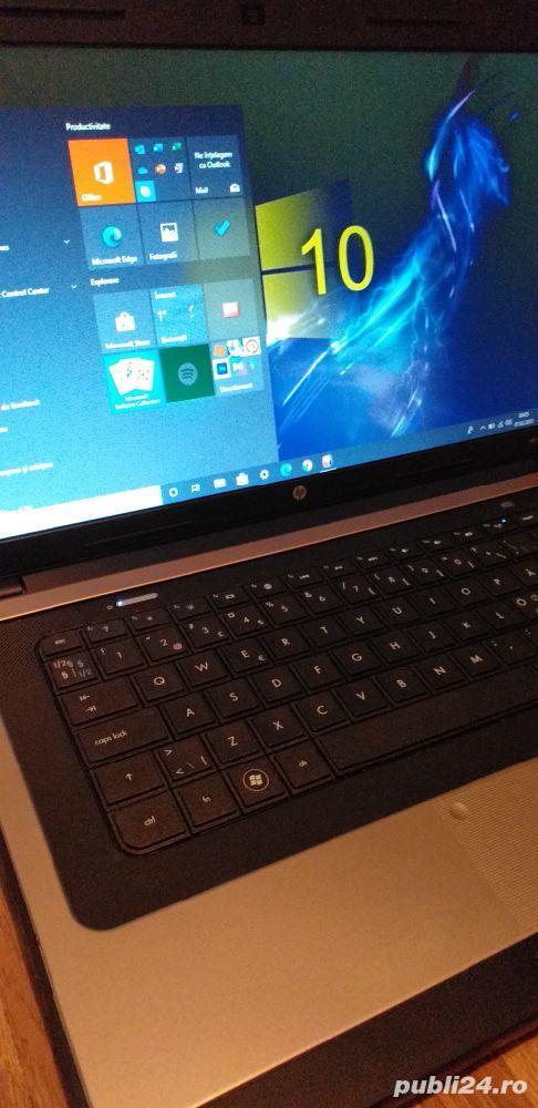 Laptop HP display mare de 15,6 inch Led HD cu webcam incorporat perfect functional,Windows 10 Pro