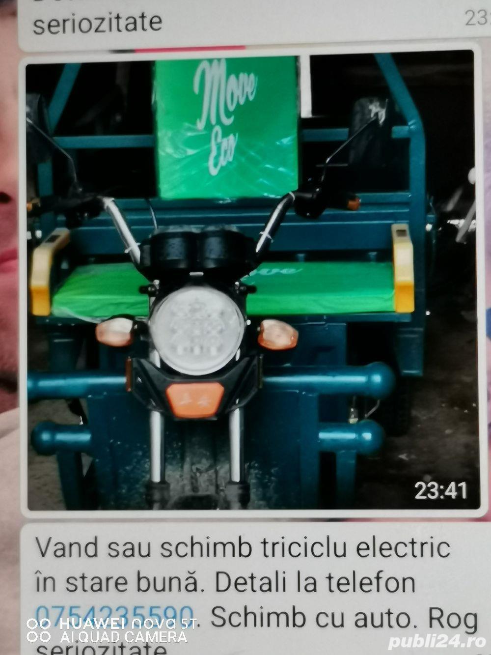 Vând triciclu electric