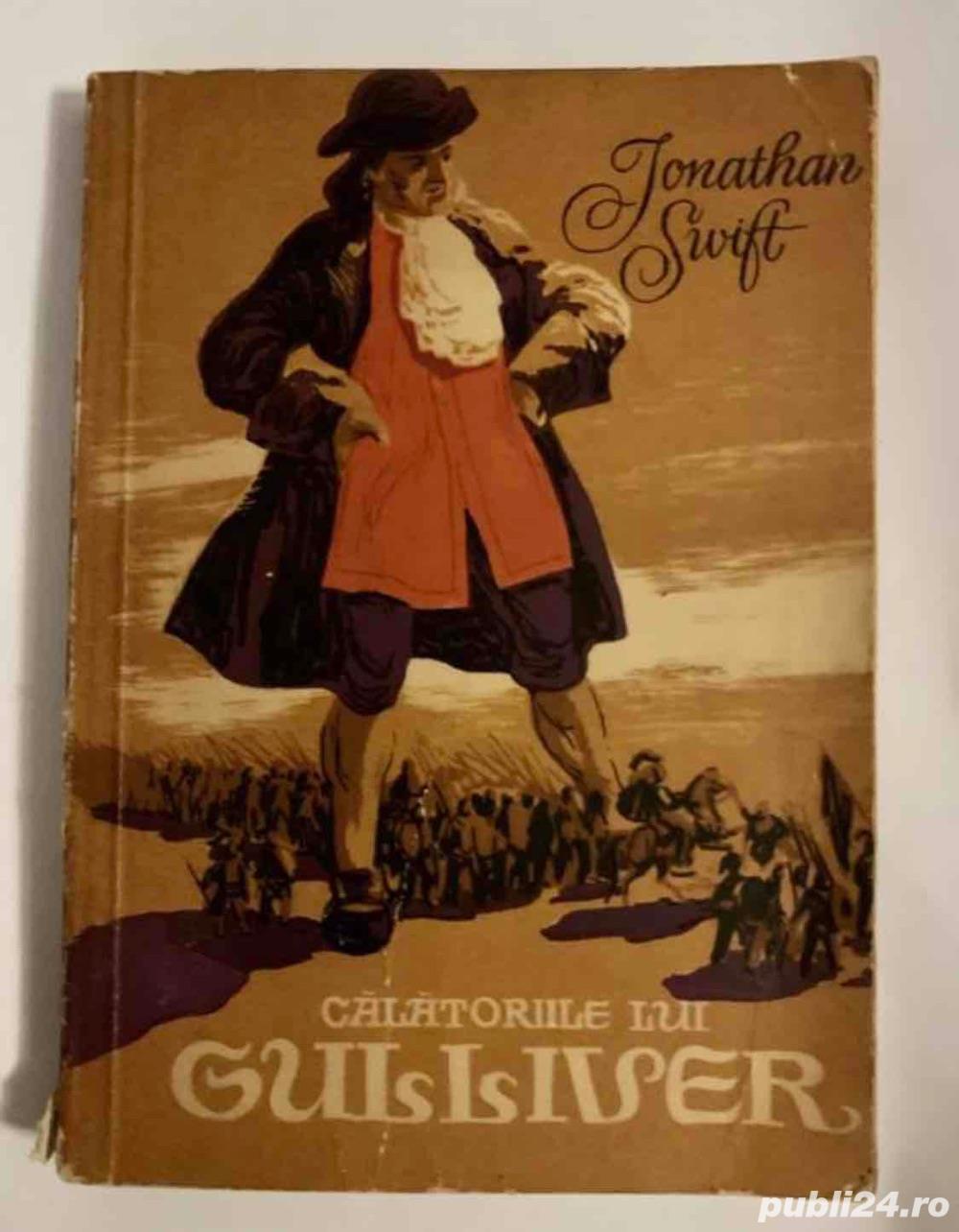 1956!!     Calatoriile lui Gulliver (cu ilustratii, de Jonathan Swift
