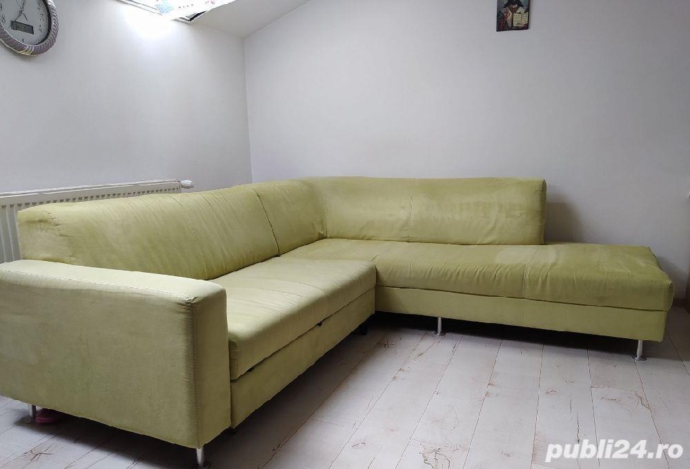 Canapea colțar sufragerie
