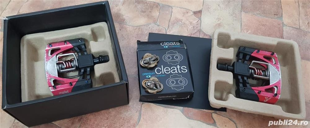 PEDALE CRANK BROTHERS MALLET 3+SPD CLEATS