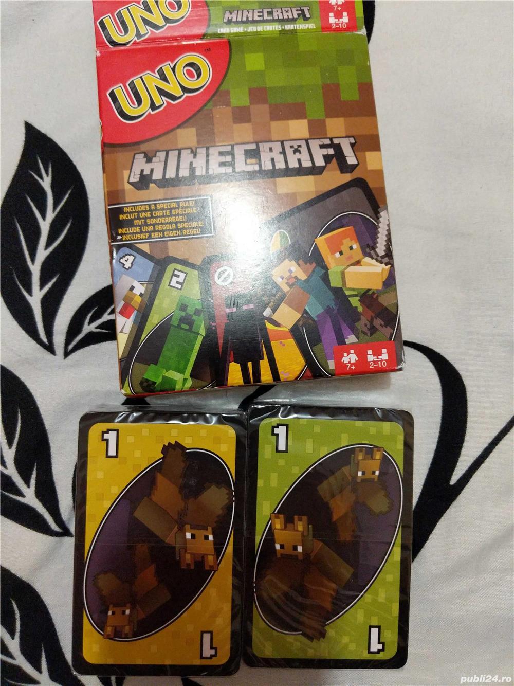 Cărți de joc UNO Minecraft